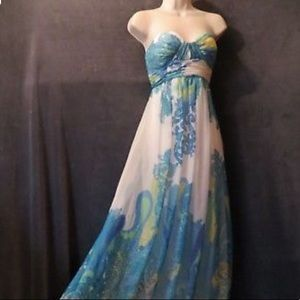 Cache Paisley Dress size 2 (worn once)